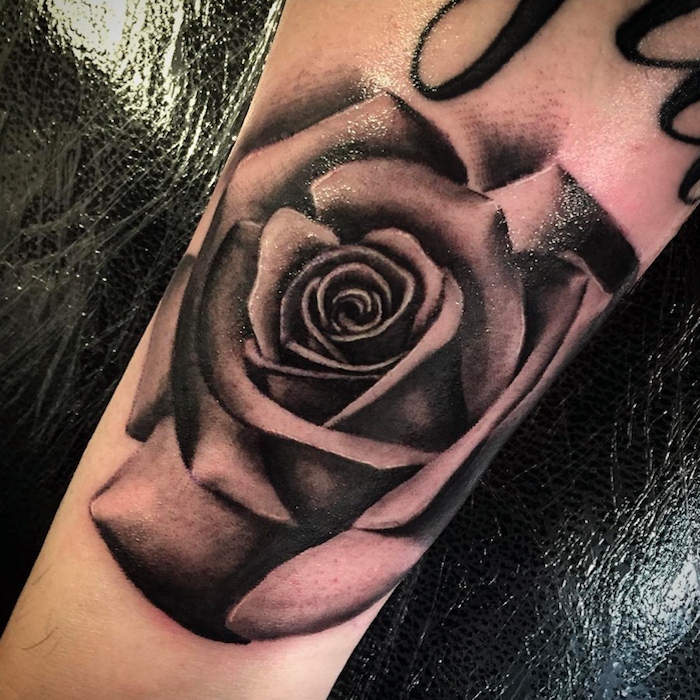 Aitor Black And Grey Realistic Tattoo Artist London